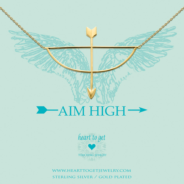 Aim High collier goud