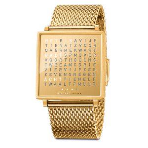 QlockTwo horloge Golden Words
