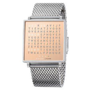 QlockTwo horloge Copper