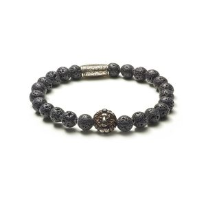 Armband Black Moon zilver