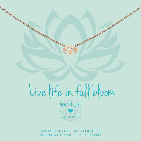Life Life in Full Bloom collier rosé