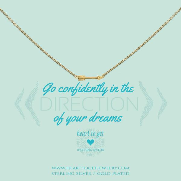 Go confidently... collier goud