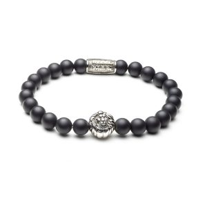 Armband Mad Panther zilver