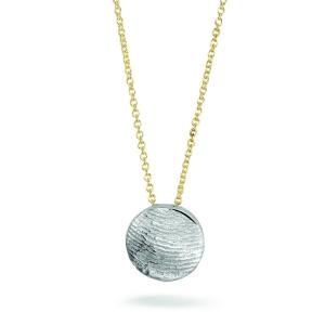 Collier 405 Sg zilver/ goud
