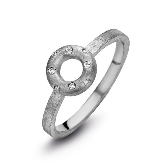 Ring Taste zilver