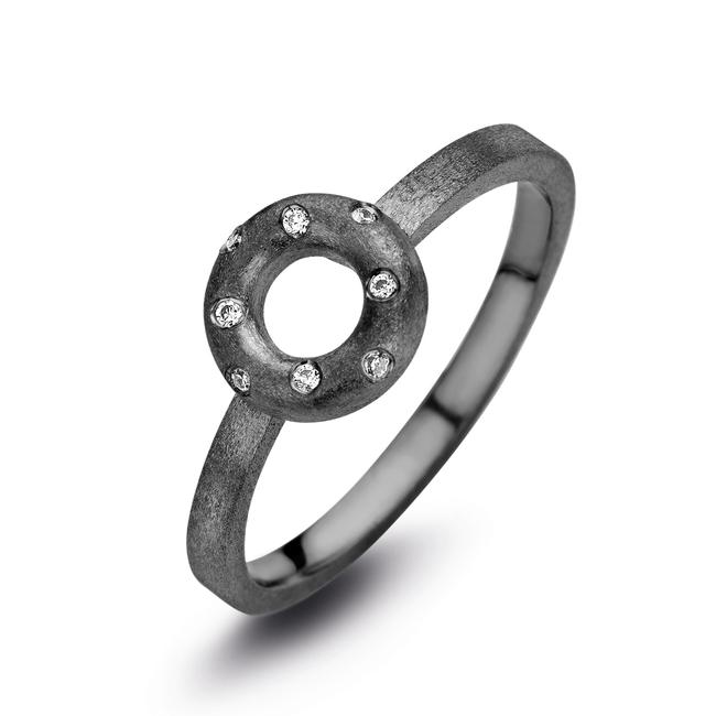 Ring Taste zwart