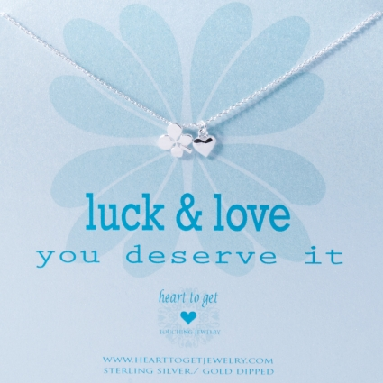 Luck & love, you deserve it
