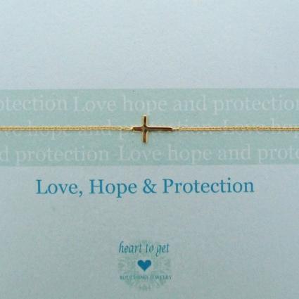 Love, hope & protection armband