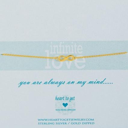 Infinite love armband