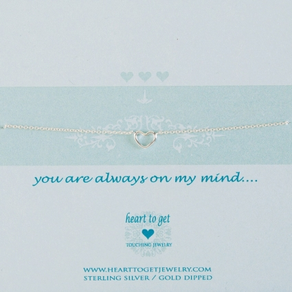 You are always on my mind armband