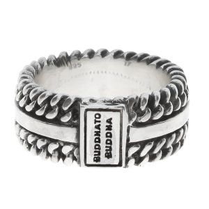 Chain Texture ring