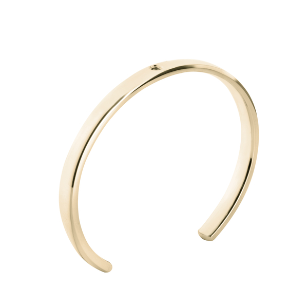Armband Twisted Tyra goud