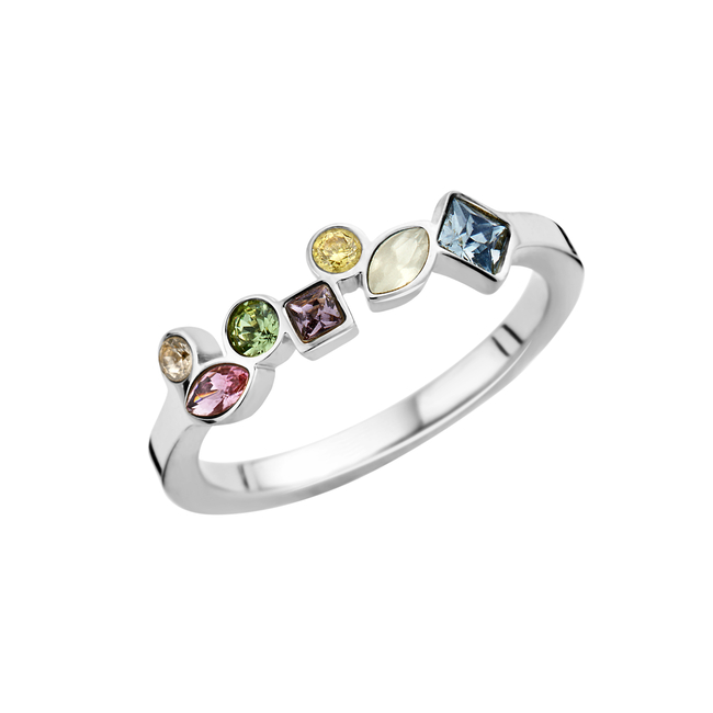 friends mosaic ring hue
