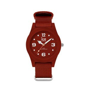 Ice Watch horloge - Ice Watch slim nature red - Te koop bij Sparnaaij Juweliers in Aalsmeer