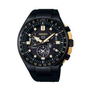 Gelimiteerd heren horloge uit de Seiko Astron collectie - uitgevoerd in Black pvd met een rubbere band - uitgebracht in een oplage van 1500 stuks - De Seiko Astron collectie is verkrijgbaar bij Sparnaaij Juweliers in Aalsmeer