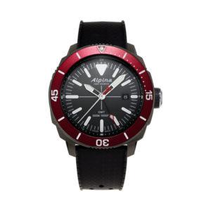 De alpina seastrong diver GMT AL-247LGBRG4TV6 koopt u bij Sparnaaij Juweliers.