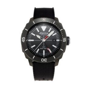 De alpina seastrong diver GMT AL-247LGG4TV6 koopt u bij Sparnaaij Juweliers.