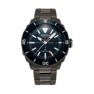 De alpina seastrong diver GMT AL-247LNN4TV6B koopt u bij Sparnaaij Juweliers.
