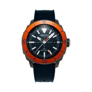 De alpina seastrong diver GMT koopt u bij Sparnaaij Juweliers.