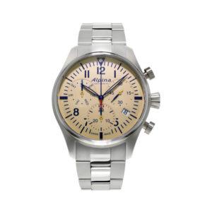 De startimer pilot chronograph quartz AL-371BG4S6B koopt u bij Sparnaaij Juweliers