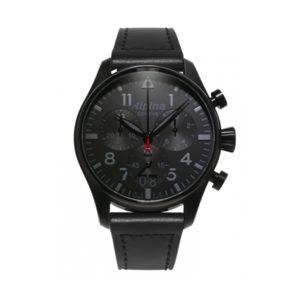 de alpina startimer pilot chronograph big date shadow line koopt u bij Sparnaaij juweliers