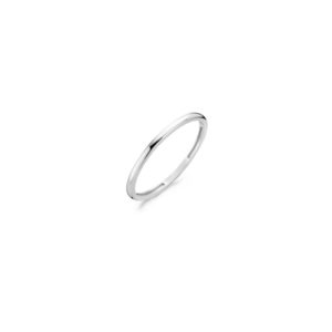 14K witgouden gladde ring van Blush - Te koop bij Sparnaaij Juweliers in Aalsmeer en Hoofddorp