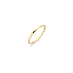 14K geelgouden gladde Blush ring - Te koop bij Sparnaaij juweliers in Aalsmeer en Hoofddorp