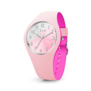 Ice-Watch met roze siliconen band en roze rvs kast - Te koop bij Sparnaaij Juweliers in Aalsmeer