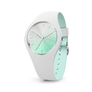 Ice-Watch horloge met wit siliconen band en lichtblauwe wijzerplaat - Te koop bij Sparnaaij Juweliers in Aalsmeer
