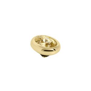 Melano Twisted oval swarovski Golden Shadow 8mm- Te koop bij Sparnaaij Juweliers in Aalsmeer en Hoofddorp