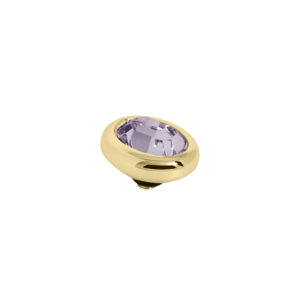 Melano Twisted oval swarovski Light Amethyst 8mm- Te koop bij Sparnaaij Juweliers in Aalsmeer en Hoofddorp