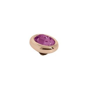 Melano Twisted oval swarovski amethyst - Te koop bij Sparnaaij Juweliers in Aalsmeer en Hoofddorp