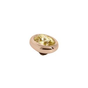 Melano Twisted oval swarovski golden shadow 10mm- Te koop bij Sparnaaij Juweliers in Aalsmeer en Hoofddorp