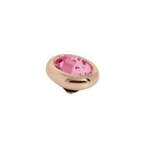 Melano Twisted oval swarovski rose 10mm- Te koop bij Sparnaaij Juweliers in Aalsmeer en Hoofddorp