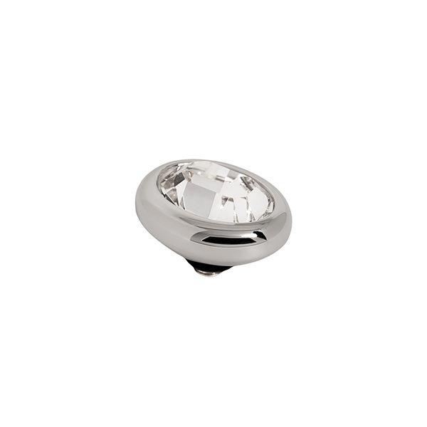 Melano Twisted oval swarovski chrystal 10 mm- Te koop bij Sparnaaij Juweliers in Aalsmeer en Hoofddorp