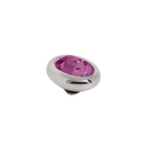 Melano Twisted oval swarovski Amethyst 10 mm- Te koop bij Sparnaaij Juweliers in Aalsmeer en Hoofddorp