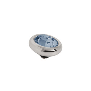 Melano Twisted oval swarovski denim blue 10mm - Te koop bij Sparnaaij Juweliers in Aalsmeer en Hoofddorp