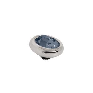 Melano Twisted oval swarovski montana 10mm - Te koop bij Sparnaaij Juweliers in Aalsmeer en Hoofddorp