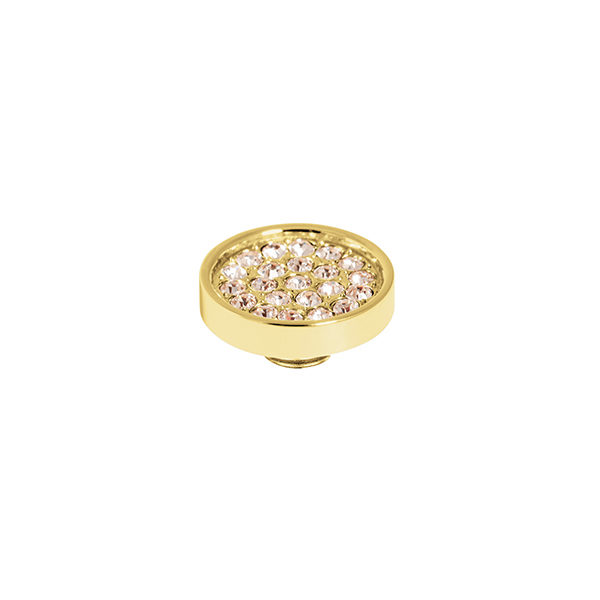 Melano vivid cz plate steen 12 mm champagne - Te koop bij Sparnaaij Juweliers in Aalsmeer en Hoofddorp