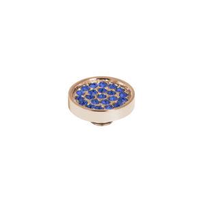 Melano vivid cz plate steen 12 mm denim blue - Te koop bij Sparnaaij Juweliers in Aalsmeer en Hoofddorp
