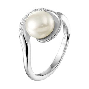 Ring parel en zirkonia