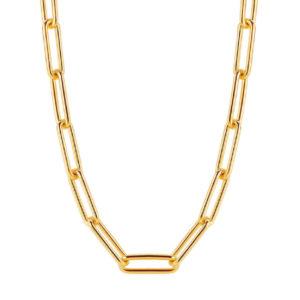 Ti Sento closed forever collier - Goud verguld - Fall/ winter 2019 - Te koop bij Sparnaaij Juweliers in Aalsmeer en Hoofddorp