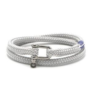Pig & Hen armband - Salty Slim High Summer '19 Light Gray silver - Te koop bij Sparnaaij Juweliers in Aalsmeer en Hoofddorp