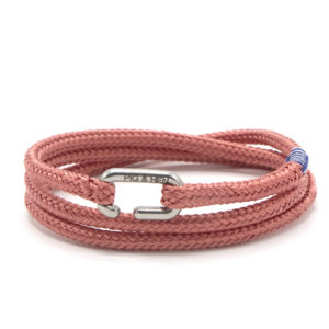 Pig & Hen armband - Savage Sam High Summer '19 Salmon silver - Te koop bij Sparnaaij Juweliers in Aalsmeer en Hoofddorp
