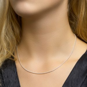 Collier slang rond 1,4 mm