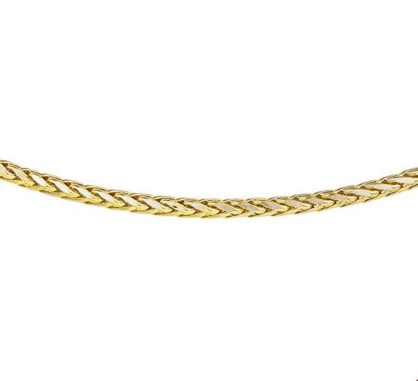 Collier vossestaart 2,5 mm 45 cm
