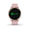 Garmin Vivoactive 4 - Dusty Pink - Verkrijgbaar bij Sparnaaij juweliers in Aalsmeer en Hoofddorp