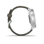 Garmin Vivomove Style smartwatch - zilver/lichtgroen - Te koop bij Sparnaaij juweliers in Aalsmeer en Hoofddorp