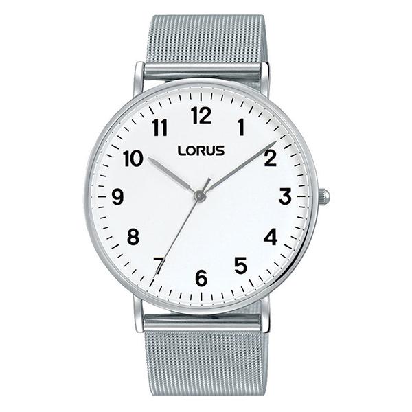 Lorus RH817CX9 met zilverkleurige stalen band en zilverkleurige kast - Te koop bij Sparnaaij Juweliers