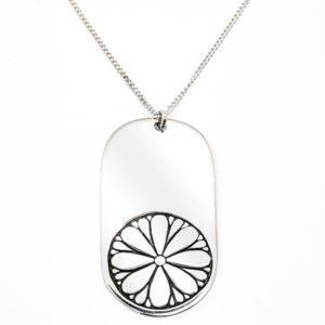 The Tag Necklace D001 van Eightyeight Consious Jewelry - Te koop bij Sparnaaij Juweliers in Aalsmeer en Hoofddorp